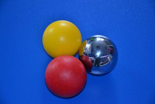 Sada kuliček pro trénink stickhandlingu - 3 Ball Set