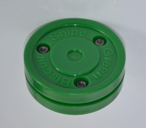 Puk na trénink stickhandlingu a střelby - Green Biscuit Snipe