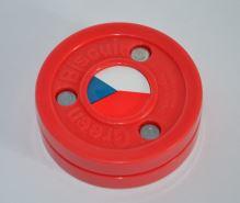 Puk na trénink stickhandlingu a přihrávek - Green Biscuit CZECH limitovaná edice